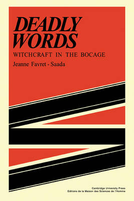 Deadly Words:Witchct (Paperback)