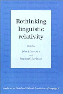 Rethinking Linguistic Relativity - Studies in the Social and Cultural Foundations of Language No. 17 (Paperback)