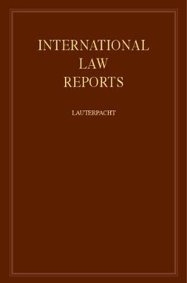International Law Reports: v.24 - International Law Reports (Hardback)