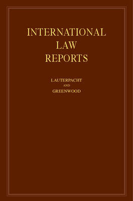 International Law Reports: v.90 - International Law Reports (Hardback)
