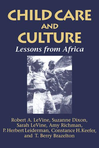 Child Care and Culture: Lessons from Africa (Paperback)