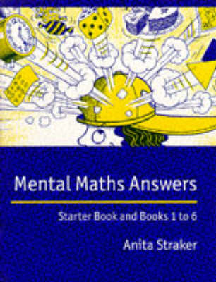 Mental Maths Answer book: Answers - Mental Maths (Paperback)