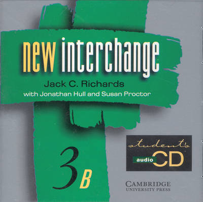New Interchange Student's CD 3B: Level 3B: English for International Communication (CD-Audio)