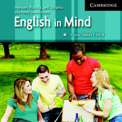 English in Mind 4 Class Audio CDs (2) (CD-Audio)