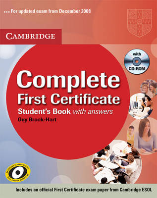 Complete First Certificate Student's Book with Answers with CD-ROM - Complete (Mixed media product)