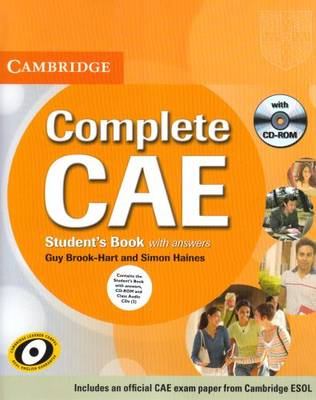 Complete CAE Student's Book Pack (Student's Book with Answers with CD-ROM and Class Audio CDs (3)) - Complete (Mixed media product)