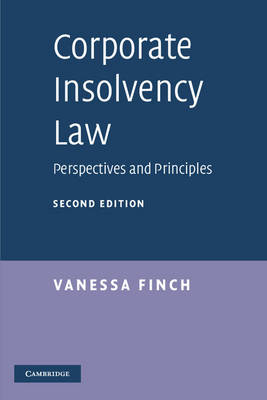 Corporate Insolvency Law: Perspectives and Principles (Paperback)