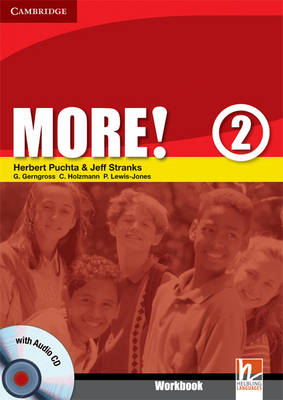 More! Level 2 Workbook with Audio CD: Level 2 (Mixed media product)