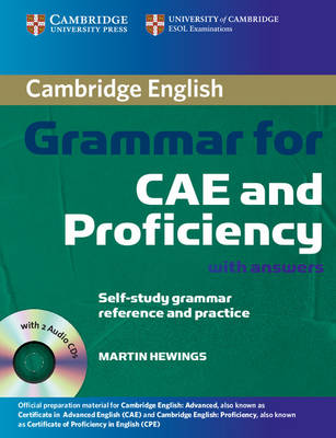 Cambridge Grammar for CAE and Proficiency with Answers and Audio CDs (2) (Mixed media product)