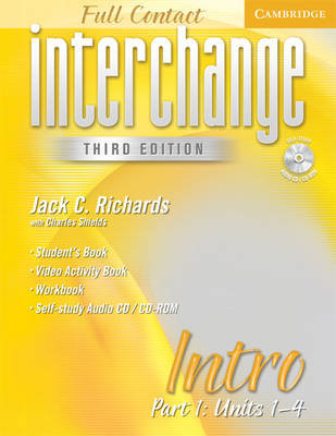 Interchange Third Edition Full Contact Intro Part 1 Units 1-4: Pt. 1 (Mixed media product)