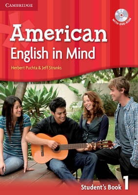 American English in Mind Level 1 Student's Book with DVD-ROM (Mixed media product)