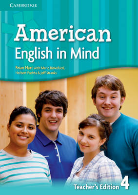 American English in Mind Level 4 Teacher's Edition (Spiral bound)