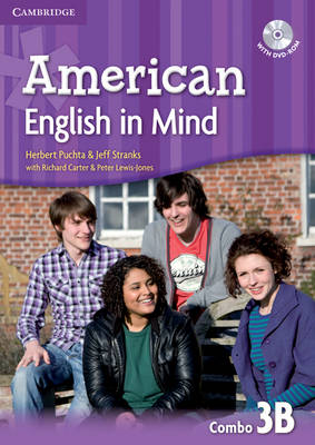 American English in Mind Level 3 Combo B with DVD-ROM (Mixed media product)