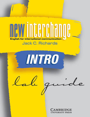 New Interchange Intro Lab guide: English for International Communication (Paperback)