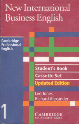 New International Business English Updated Edition Student's Book and Audio Cassette Set (3 Cassettes) (Mixed media product)
