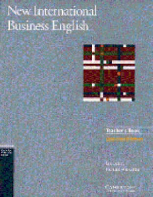 New International Business English Updated Edition Teacher's Book: Teacher's Book: Communication Skills in English for Business Purposes (Paperback)