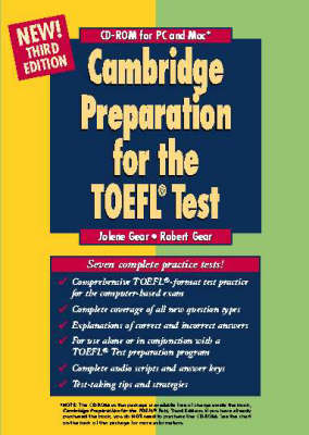 Cambridge Preparation for the TOEFL Test CD-ROM (CD-ROM)