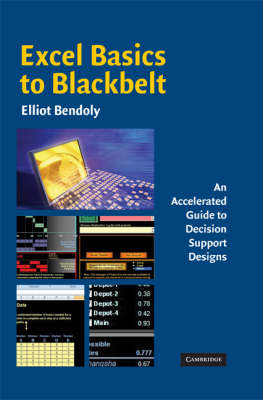 Excel Basics to Blackbelt: An Accelerated Guide to Decision Support Designs (Hardback)