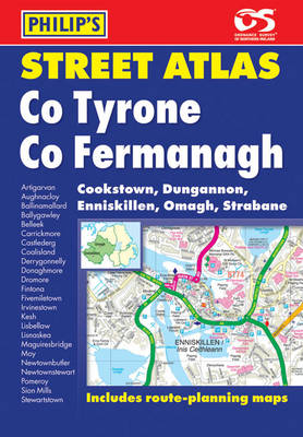 Philip's Street Atlas Tyrone and Fermanagh (Paperback)