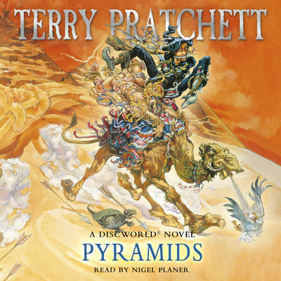 Pyramids - Discworld Novels 7 (CD-Audio)