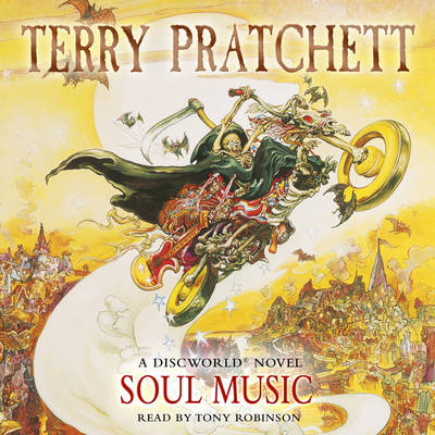 Soul Music: (Discworld Novel 16) - Discworld Novels 16 (CD-Audio)