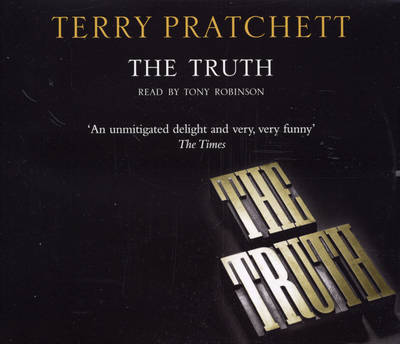 The Truth: (Discworld Novel 25) - Discworld Novels 25 (CD-Audio)