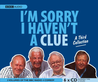 I'm Sorry I Haven't a Clue Collection: No. 3 (CD-Audio)