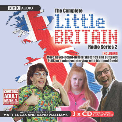 """Little Britain"" - The Complete Radio: Series 2 - Little Britain - BBC Comedy S. 3 (CD-Audio)"