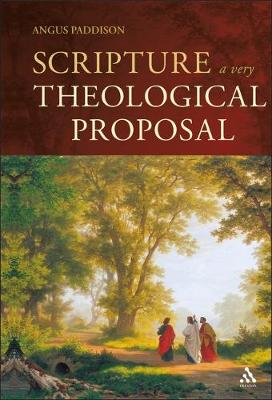 Scripture: A Very Theological Proposal (Hardback)