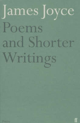 Poems and Shorter Writings (Paperback)
