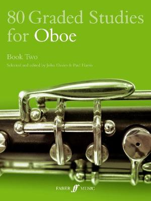 80 Graded Studies for Oboe: Bk.2 (Paperback)