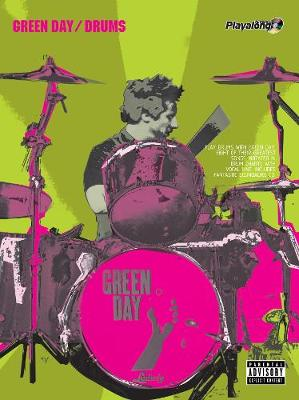 """Green Day"" Authentic Drums Playalong - Authentic Playalong (Paperback)"