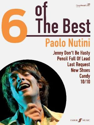 Paolo Nutini: (Piano, Vocal, Guitar) - Six of the Best (Paperback)