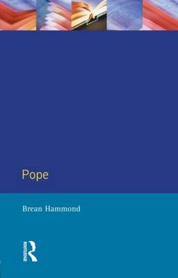 Pope - Longman Critical Readers (Paperback)