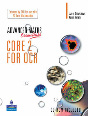 A Level Maths Essentials Core 2 for OCR Book and CD-ROM - A Level Maths (Mixed media product)