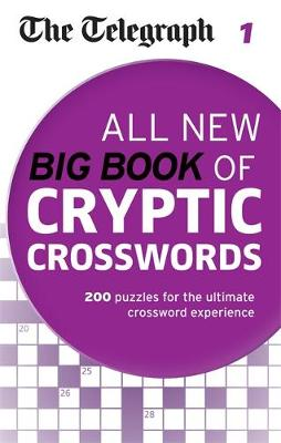 The Telegraph: All New Big Book of Cryptic Crosswords: 1 - The Telegraph Puzzle Books (Paperback)
