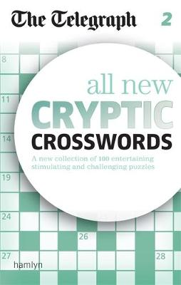 The Telegraph All New Cryptic Crosswords 2 - The Telegraph Puzzle Books (Paperback)