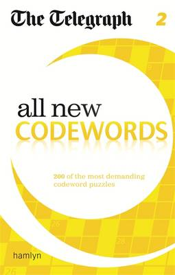 The Telegraph: All New Codewords 2 - The Telegraph Puzzle Books (Paperback)
