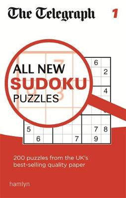 Telegraph All New Sudoku Puzzles 1: 1 - The Telegraph Puzzle Books (Paperback)
