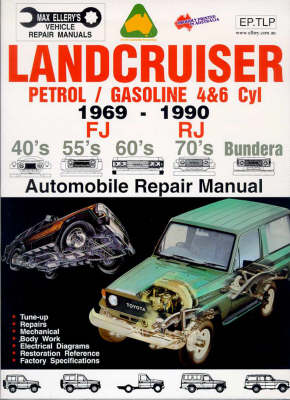 Toyota Landcruiser 1969-1990 Petrol Engines (EP.TLP): Automobile Technical/repair Manual (Paperback)