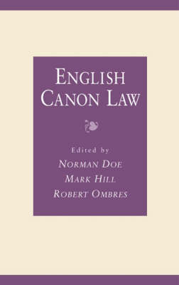 English Canon Law: Essays in Honour of Bishop Eric Kemp, Bishop of Chichester (Hardback)