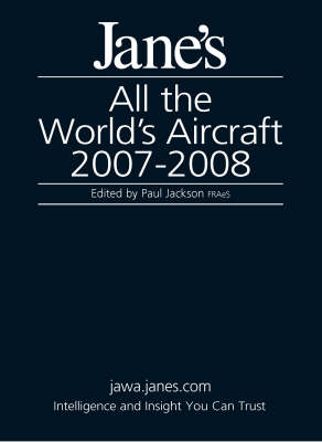 Jane's All the World's Aircraft 2007/2008 (Hardback)