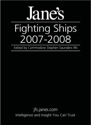 Jane's Fighting Ships 2007/2008 (Hardback)