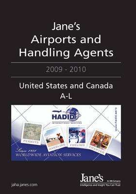 Jane's Airports and Handling Agents 2009/2010: United States and Canada, 2009-2010 (Hardback)