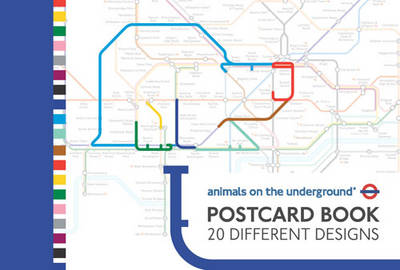 Animals on the Underground (Postcard book or pack)