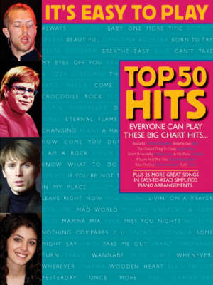 It's Easy to Play Top 50 Hits (Paperback)