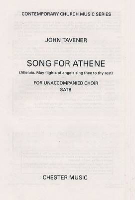 John Tavener: Song for Athene (Alleluia. May Flights of Angels Sing Thee to Thy Rest) (Paperback)