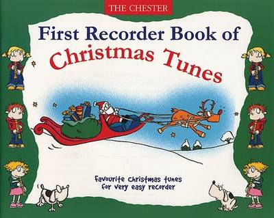 First Recorder Book of Christmas Tunes (Paperback)