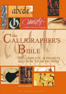 The Calligrapher's Bible: 100 Complete Alphabets and How to Draw Them (Spiral bound)