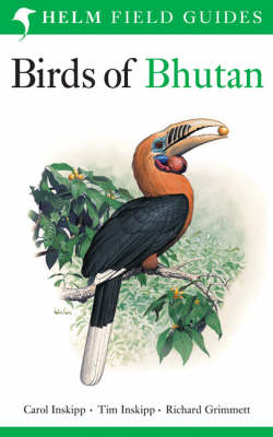 Birds of Bhutan - Helm Field Guides (Paperback)